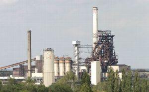 ArcelorMittal's steel plant at Eisenhüttenstadt, Germany