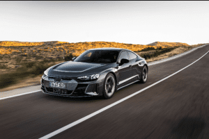 The RS E-Tron GT, Audi's latest electric vehicle model