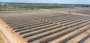 Total Eren's 34MW solar plant at Cohuna, Credit: Total Eren website