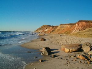 A view of the coast off Martha's Vineyard, Credit: Wikimedia Commons