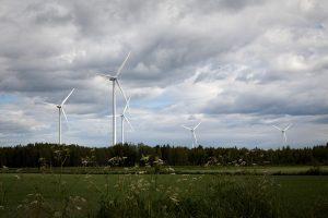 Vestas turbines at a wind farm in Vähäkyro, Finland, credit: Vestas website