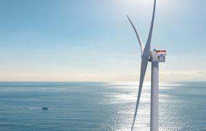 A prototype of GE Renewables Haliade-X wind turbine, Credit: GE Renewables website