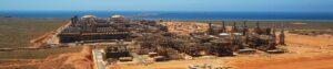 A view of Chevron Australia's Gorgon CCS Project. Credit: Chevron Australia website