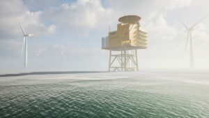 A visualisation of the AquaSector project by AquaVentus. Credit: Equinor website