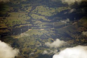 A view of Crookwell Wind Farm. Credit: Wikimedia Commons, CC BY 3.0