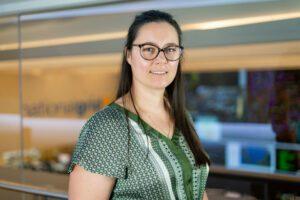 Oliwia Milek, Energy Forecasting Manager at National Grid ESO, UK. Credit: National Grid ESO website